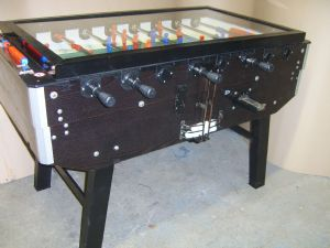 Genuine Italian Fabi Torino Football / Foosball Table - Coin Operated